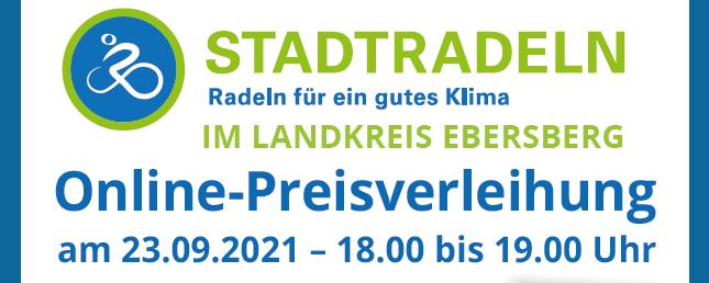 Preisverleihung Stadtradeln 2021