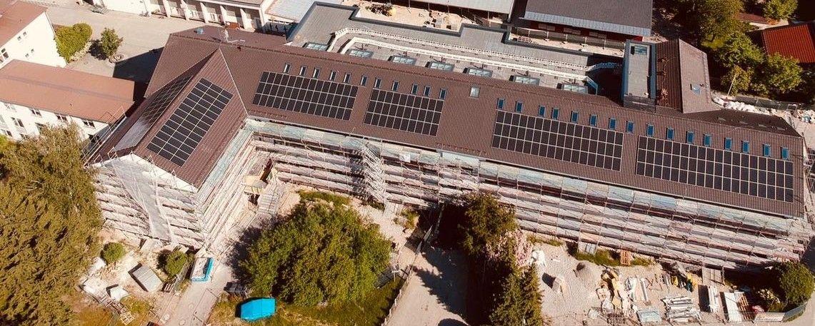 Photovoltaikanlage Grundschule