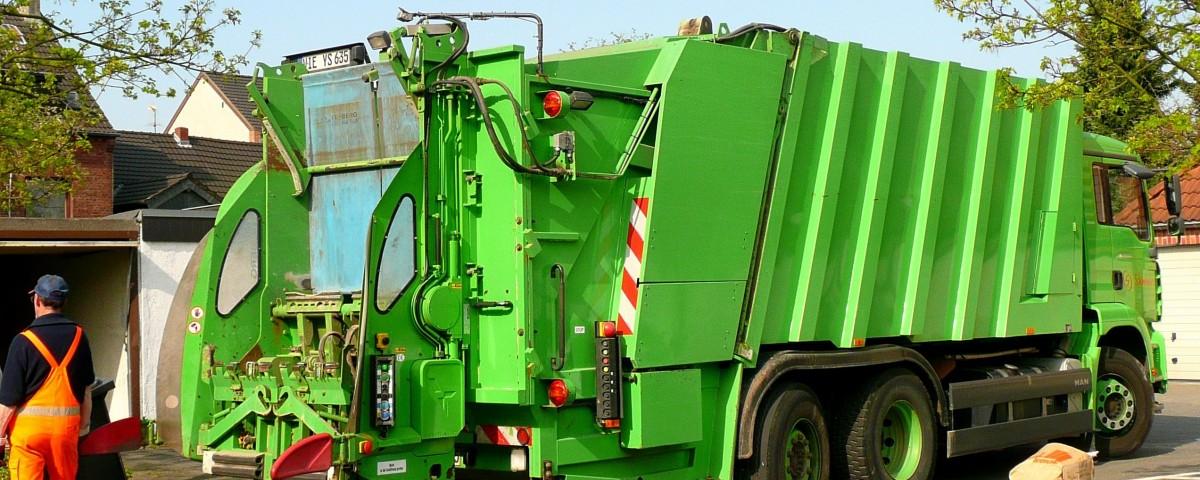 Änderung der Müllabfuhr